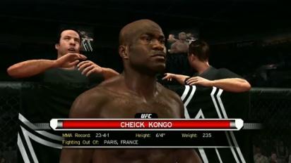 UFC 2009 Undisputed - Cheick Kongo Opening Cinematic Trailer