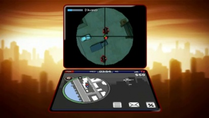 Grand Theft Auto: Chinatown Wars - Hacking and Sniper Rifle Gameplay Trailer