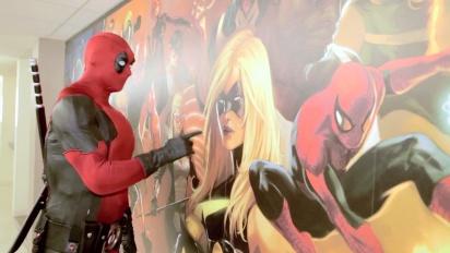 Deadpool - Deadpool Visits Marvel HQ Mural Trailer