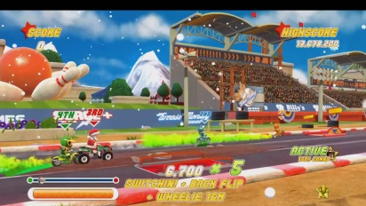 Joe Danger: Special Edition - Christmas-DLC Trailer