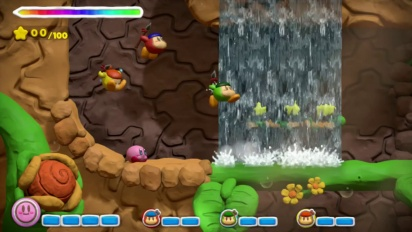 Kirby and the Rainbow Curse - Wii U Accolades Trailer
