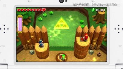 The Legend of Zelda: Tri Force Heroes - Japanese Story Trailer