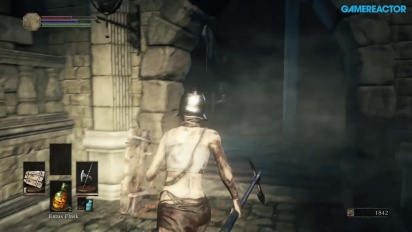 Dark Souls III - Gameplay Xbox One - High Walls of Lothirc A
