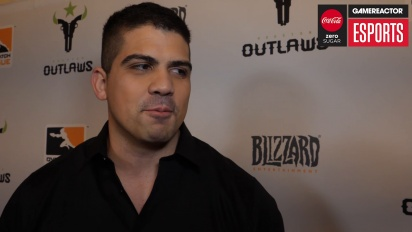 Overwatch League – Matt 'Flame' Rodriguez (Houston Outlaws) Interview