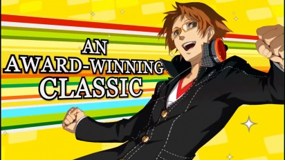Persona 4 Golden - Official Steam Trailer