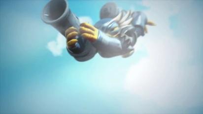 Skylanders Giants - Meet The Skylanders: Light Core Jet-Vac Trailer
