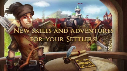 The Settlers Online - Epic Raids and Science System Trailer