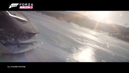 Forza Horizon 3: Blizzard Mountain Teaser