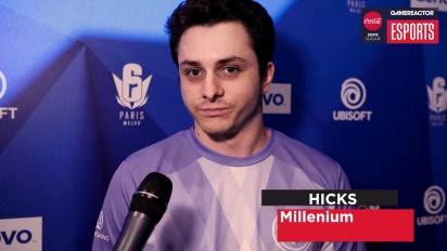 Six Major Paris - Hicks Interview