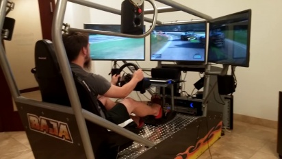 Project Cars - 3 Screen Simulator