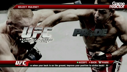 UFC Undisputed 3 - First 10 Minutes Pride Mode