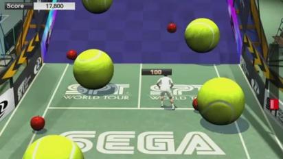 Virtua Tennis 2009 - Court Games Trailer