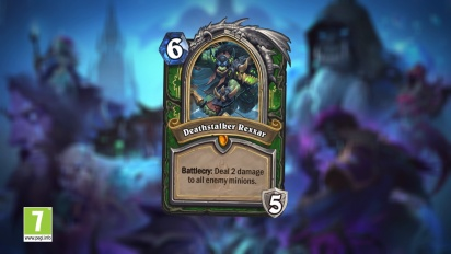 Hearthstone: Knights of the Frozen Throne - Announcement Video