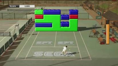 Virtua Tennis 2009 - Court Games Part 1 Trailer