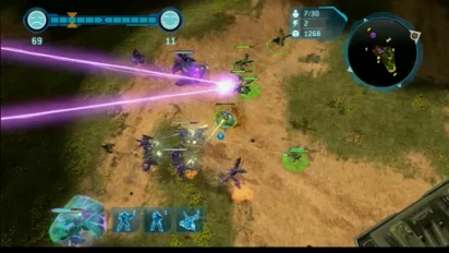 Halo Wars - Tug of War Mode Walkthrough Trailer