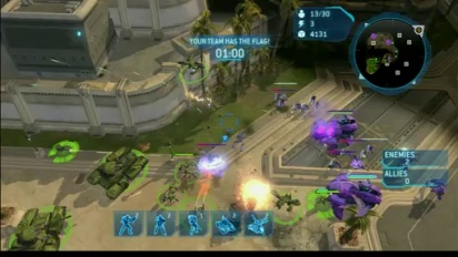 Halo Wars - Keep Away Mode Walkthrough Trailer