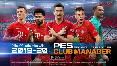 PES CLUB MANAGER 2019 20 Season Update Trailer