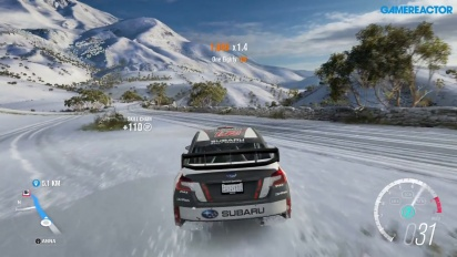 forza horizon 3 blizzard mountain in game introduction gamereactor. Black Bedroom Furniture Sets. Home Design Ideas