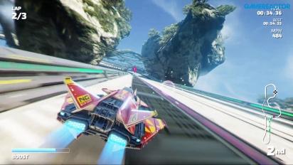 Fast RMX - Cameron Crest Nintendo Switch Gameplay