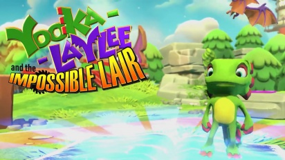 Yooka-Laylee and the Impossible Lair - Reveal Trailer