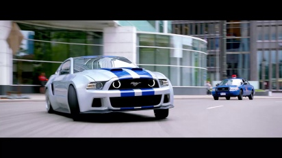 Need for Speed Behind the Scenes - Shelby Ford Mustang