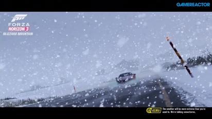 Forza Horizon 3: Blizzard Mountain - In-game Introduction