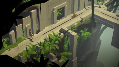 Lara Croft GO PlayStation Steam Launch Trailer - Mirror Of Spirits US