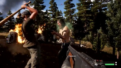 Far Cry 5 - Vicious Wildlife, A Crazy Cast of Characters, and Co-Op Hijinks