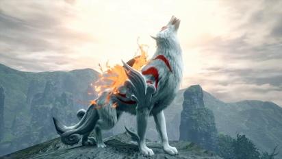 Monster Hunter Rise - Okami Collab Trailer