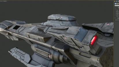 Strike Suit Zero - Ship Up-Scaling
