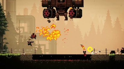 Broforce - The Expendabros Launch Trailer