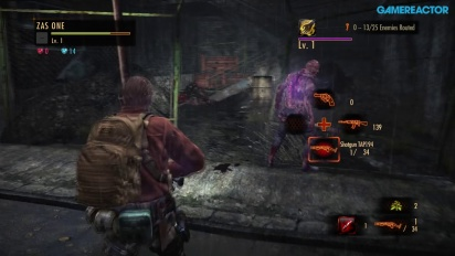 Resident Evil: Revelations 2 - Raid Mode with Barry Burton
