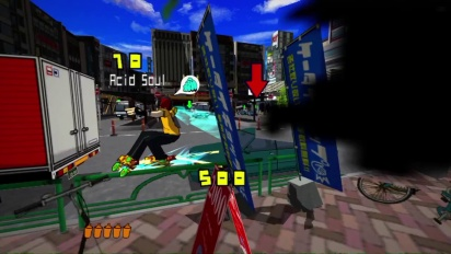 Jet Set Radio - Gameplay Trailer