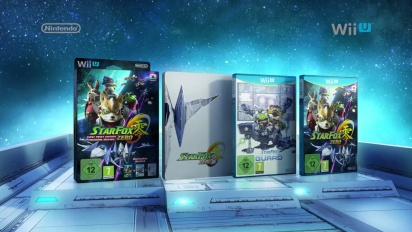 Star Fox Zero and Star Fox Guard - First Print Edition Trailer