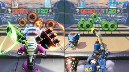 ARMS - Skillshots Mode Gameplay