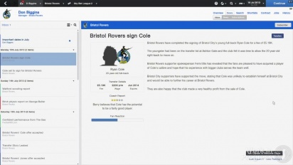 Football Manager 2014 - Transfers & Contracts Dev Diary