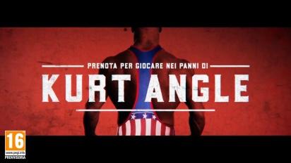 WWE 2K18 - Kurt Angle Trailer di Reveal (italiano)