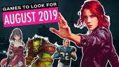 Games To Look For - August 2019