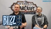 World of Warcraft: Shadowlands - Ion Hazzikostas & Steve Aguilar Interview