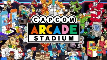 Capcom Arcade Stadium - Feature Trailer