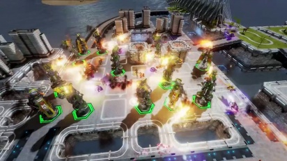 Defense Grid 2 - Sequence 2: Plaza Map Tower Placement