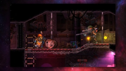 Steamworld Heist - Launchtrailer