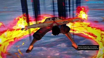 One Piece: Burning Blood - Whitebeard vs Eneru Gameplay