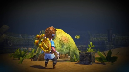 Oceanhorn: Monster of Uncharted Seas - Console trailer