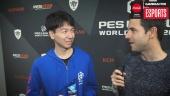 PES League Berlin - Champion Naoki 'Sofia' Sugimura Interview