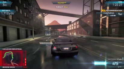 Need for Speed: Most Wanted - Gamescom Singleplayer Gameplay Trailer