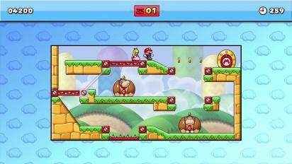 Mario vs Donkey Kong - Wii U E3 2014 Announcement Trailer