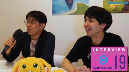 Trials of Mana - Masaru Oyamada and Shinichi Tatsuke Gamescom 2019 Interview