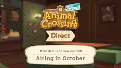 Animal Crossing: New Horizons - Nintendo Direct September Announcement