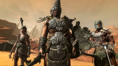 Age of Conan: Unchained - The Secrets of Dragon's Spine Trailer